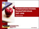 Professional Salary Schedules Maryland Public Schools 2007-2008 Revised 01/08