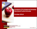 Analysis of Professional Salaries Maryland Public Schools October 2014
