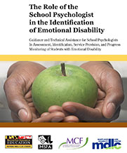 The Role of the School Psychologist in the Identification of Emotional Disability (ED)