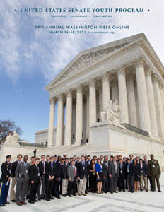 2021 United States Senate Youth Program (USSYP) Brochure