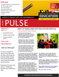 MSDE Pulse Newsletter May 2019