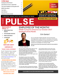 MSDE Pulse October 2017