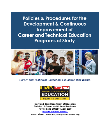 CTE Policies and Procedures Cover
