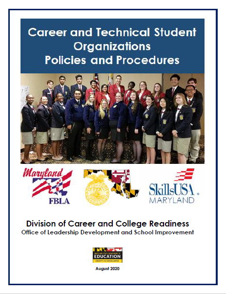 Cover for the CTSO Policies and Procedures