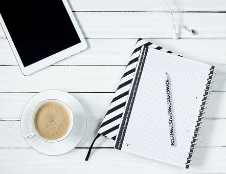 Tablet Coffee Note Pad