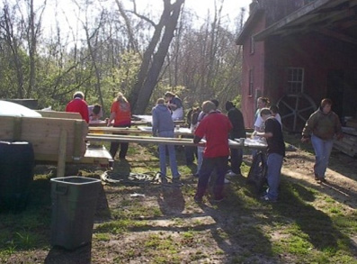 Caroline County students helping preserve a historic mill site in their community.
